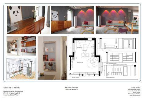 Neugestaltung Wohnbereich